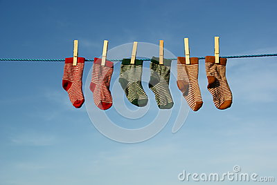 Colorful baby socks