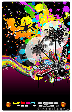 Colorful Background for Musical Flyer