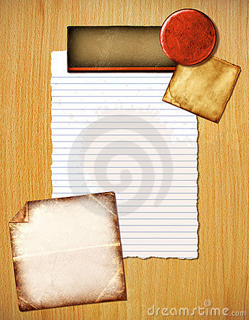 Colorful background of papers