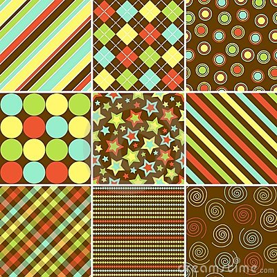 Free Colorful Background Patterns Royalty Free Stock Photography - 5752547
