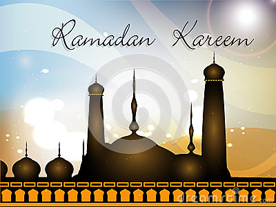 Colorful background of Ramadan Kareem