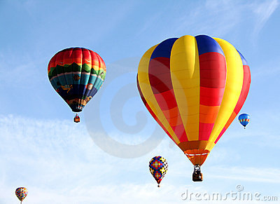 Colorful Balloons Stock Image - Image: 1195541