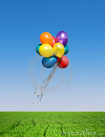 Free Colorful Balloons Stock Images - 14253394