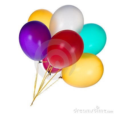Free Colorful Balloons Stock Images - 15664074