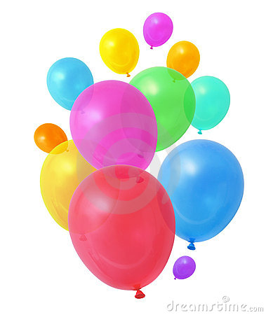 Free Colorful Balloons Stock Photo - 16870220