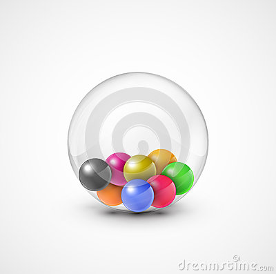 Free Colorful Balls Royalty Free Stock Photo - 28877925