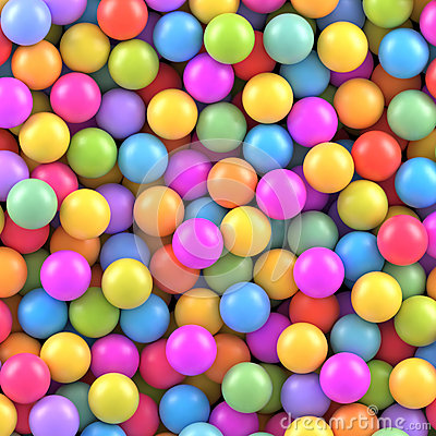 Free Colorful Balls Background Royalty Free Stock Image - 72746396