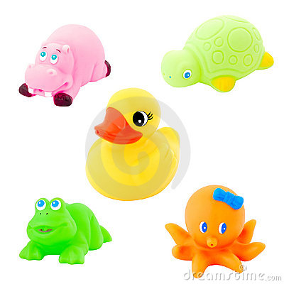 Free Colorful Bath Toy Royalty Free Stock Images - 6861239