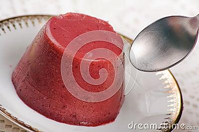 Colorful Bavareses Dessert