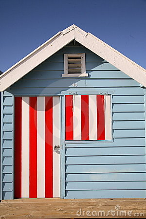 Colorful Beach Hut