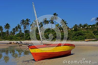 Beached Fishing Boat, Vilanculos