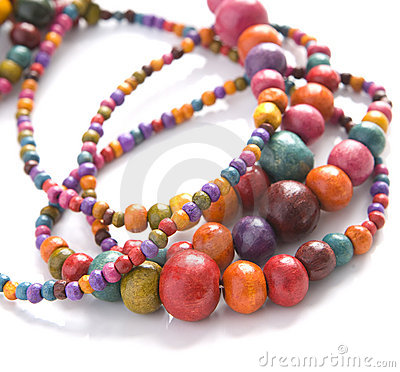 Free Colorful Beads Royalty Free Stock Photo - 10188815