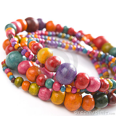 Free Colorful Beads Royalty Free Stock Photo - 10188835