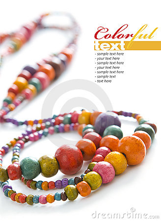 Free Colorful Beads Stock Images - 10188854