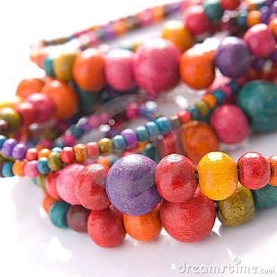 Free Colorful Beads Stock Photography - 10691642