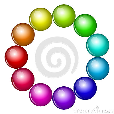 Free Colorful Beads Royalty Free Stock Images - 33028989