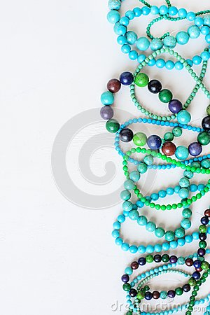 Free Colorful Beads Background Royalty Free Stock Image - 112345616