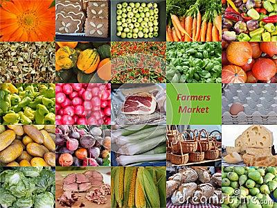 Colorful beauty of a farmer market.