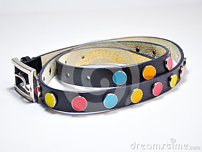 Colorful belt for girls