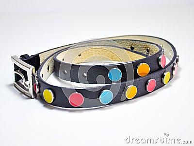 Colorful belt for girls