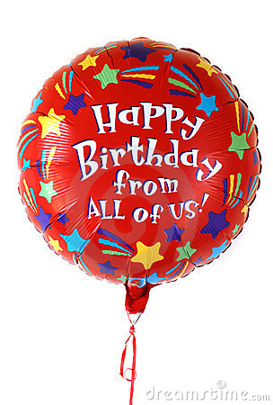 Free Colorful Birthday Balloon Stock Images - 3224294
