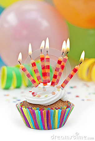 Free Colorful  Birthday Candels Royalty Free Stock Photography - 25213237