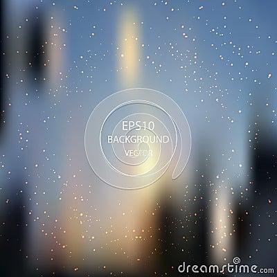 Colorful blur background Vector Illustration