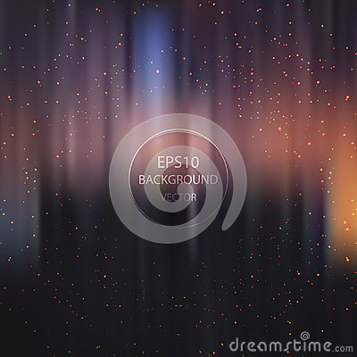 Colorful blur background Vector Illustration