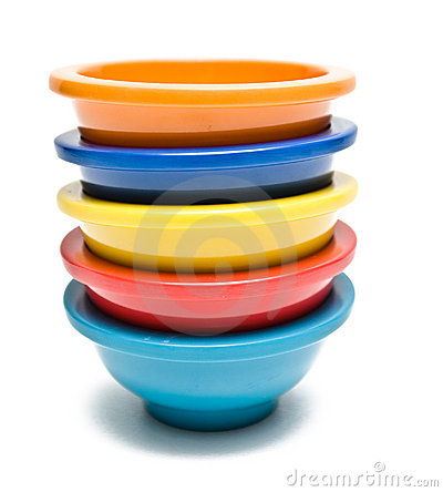 Free Colorful Bowls Stock Images - 7230564