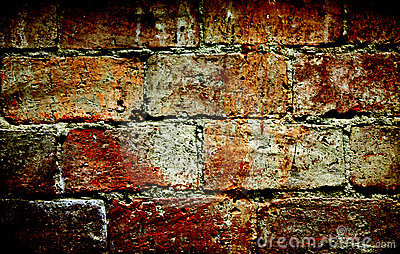 Colorful brick wall texture surface background