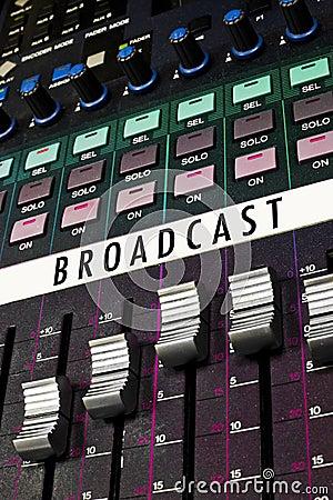 Colorful Broadcast Board