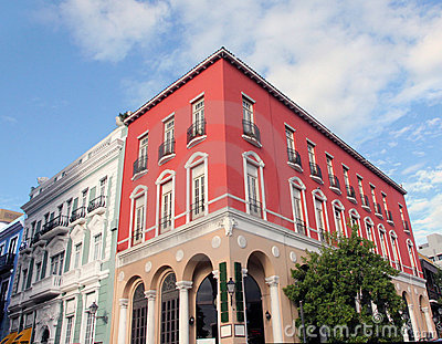Colorful  Building.