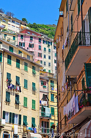 Colorful Buildings in Cinque Terre