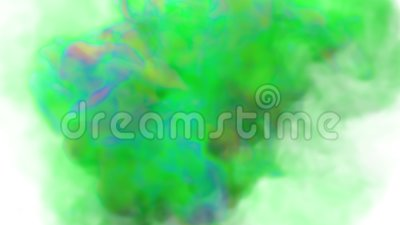 Colorful bursts. Explosions of colorful smoke, colors. stock video