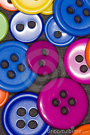 Free Colorful Buttons Stock Image - 13045231