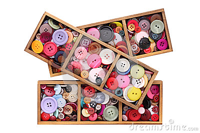 Colorful Buttons Stock Image - Image: 25322011