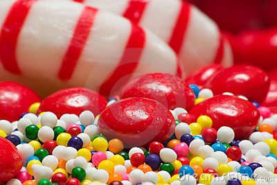 Colorful candy assortment