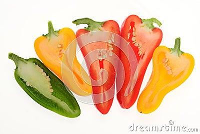 Colorful Capsicum, Pepper