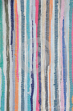 Free Colorful Carpet With Pattern In Line Stock Photo - 30494130
