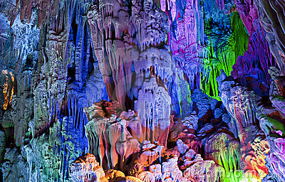 Colorful Caves of Guilin