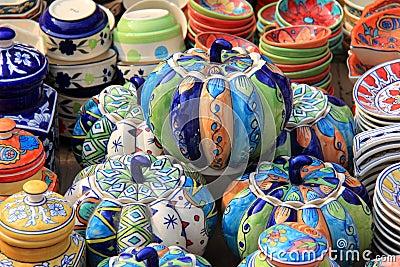 Colorful Ceramic Pumpkin (hand made)