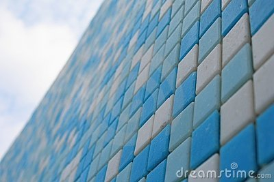 Colorful ceramic tiles pattern