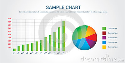 Colorful chart/infographic