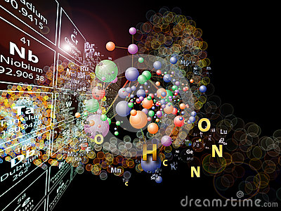 Colorful Chemical Elements