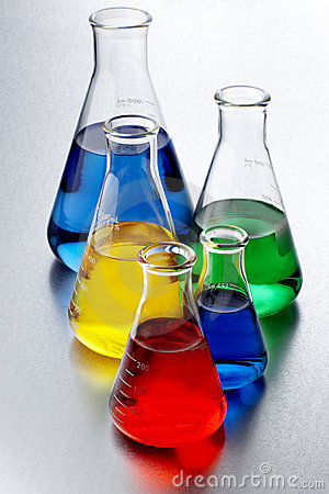 Free Colorful Chemicals Royalty Free Stock Photo - 12777275