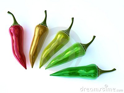 Colorful chili