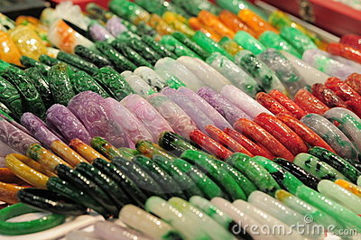 Colorful chinese bracelet