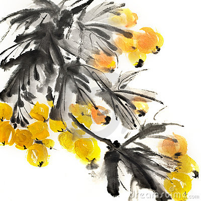 Free Colorful Chinese Painting Stock Images - 18907744