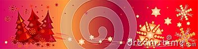Colorful Christmas Banner