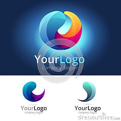 Free Colorful Circle Logo Stock Photo - 47450330